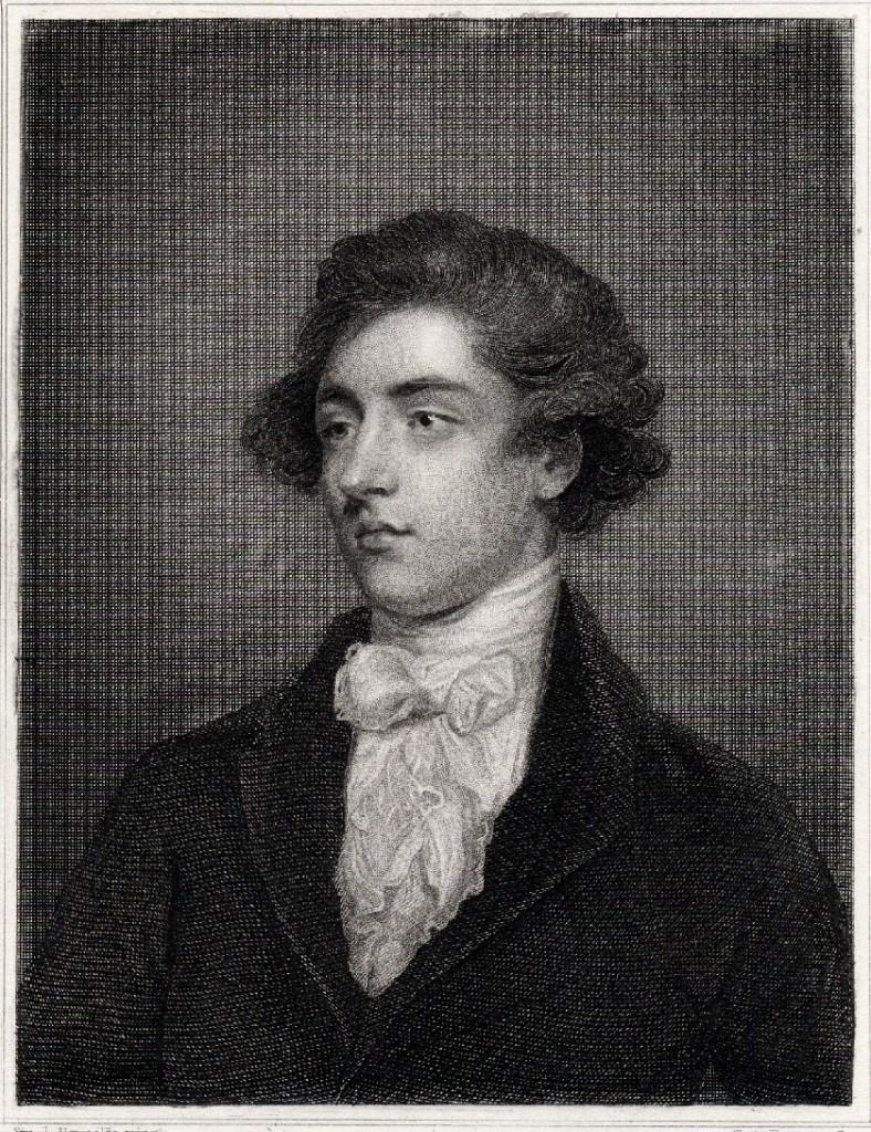 engraving Beckford after reynolds