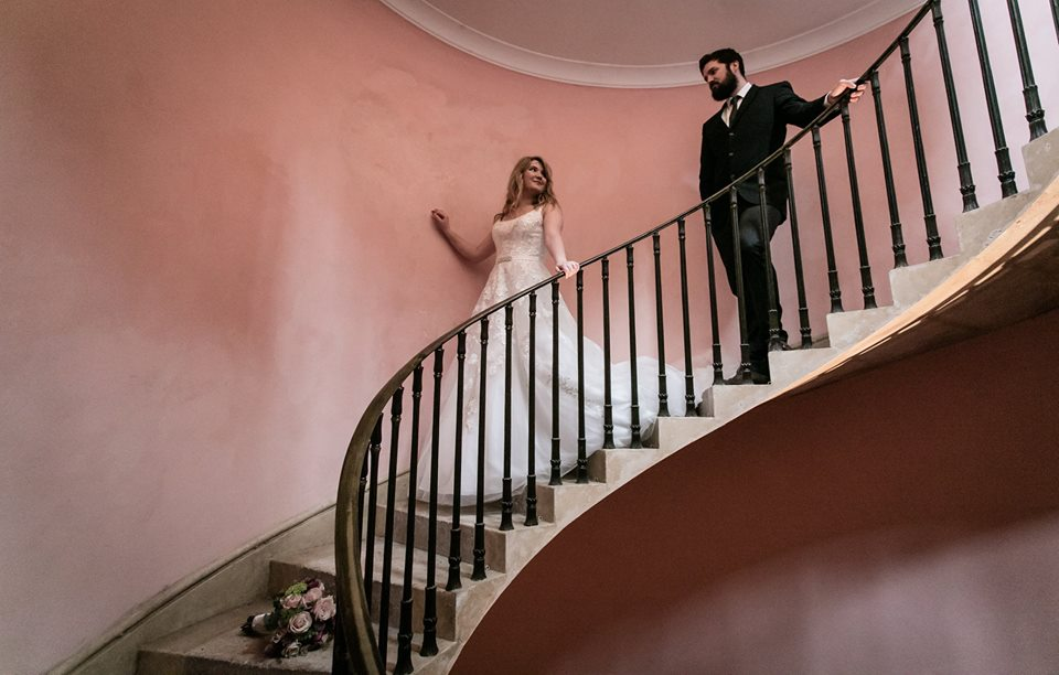 Photography: Rebecca Faith Photography, Dress: Krystle Brides, Flowers: Pulteney Bridge Flowers