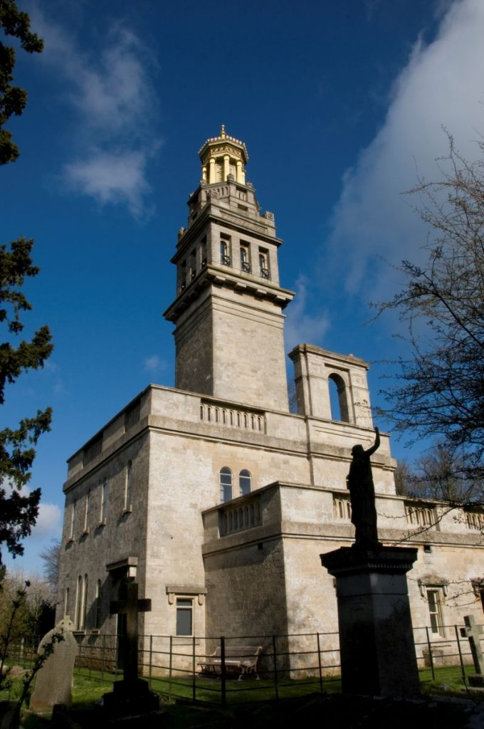 Beckford's Tower, Bath - from south west